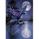 Anne Stokes Dragon Card 6 Pack - Dragonfly